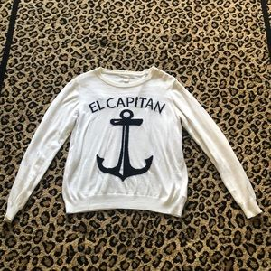 Forever 21 anchor sweater